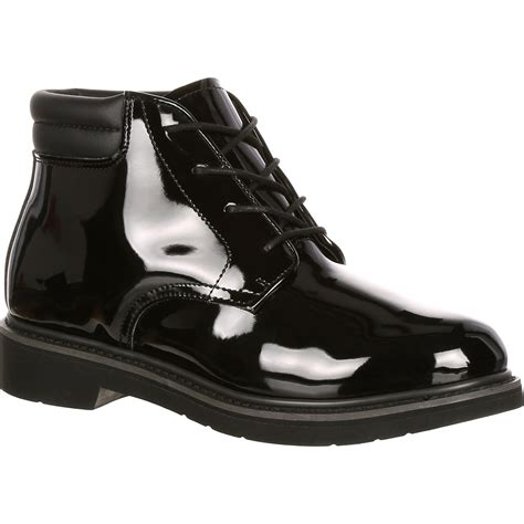 Black Master Boot Us rocky dress leather high gloss chukka boot fq00500 8