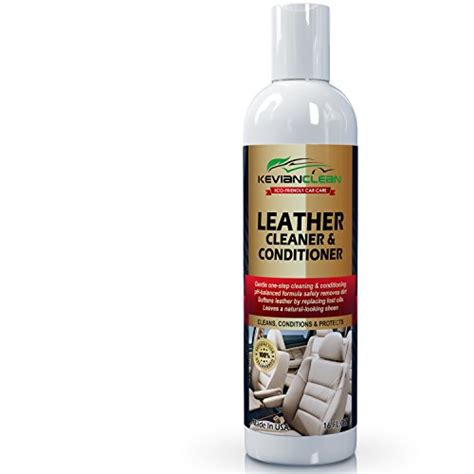 Leather Sofa Cleaner And Protector Kevian Clean Kevianclean Leather Cleaner Conditioner Auto I On Sale For 23 97
