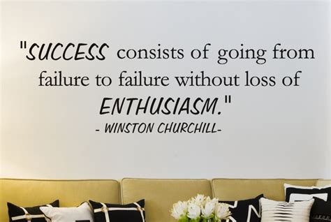inspirational bible verses about success winston churchill success consists of wall decal quotes