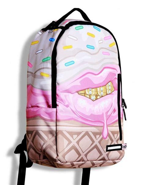 Cupcake Accessories For Kitchen - bnwt sprayground ice cream grillz cupcake mafia backpack rucksack skate college ebay
