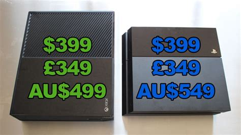 xbox one console cost ps4 vs xbox one which is better gagadget
