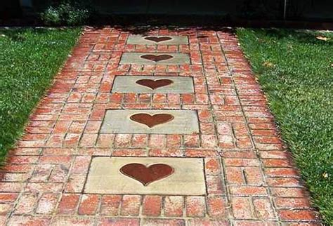 Design Ideas For Brick Walkways 25 Great Ideas For Garden Design With Beautiful Walkways