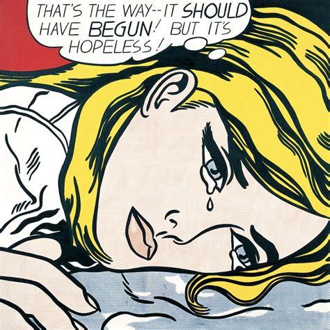 roy lichtenstein subject matter roy lichtenstein quot hopeless quot 1963 i like