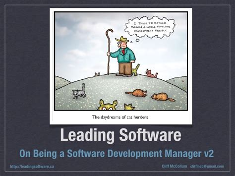 How To Become A Software Manager With An Mba by On Being A Software Development Manager Part 2