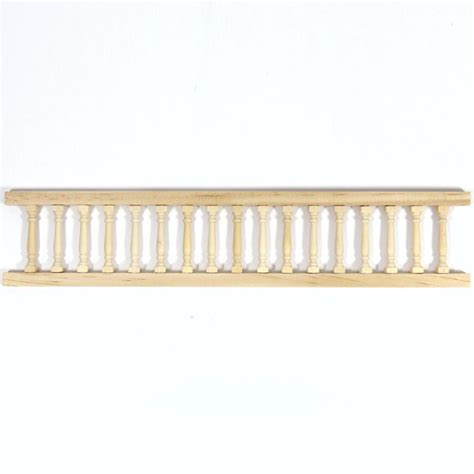 Balustrade Railing For 1 12 Scale Dolls House Components Bc68 From Bromley Craft