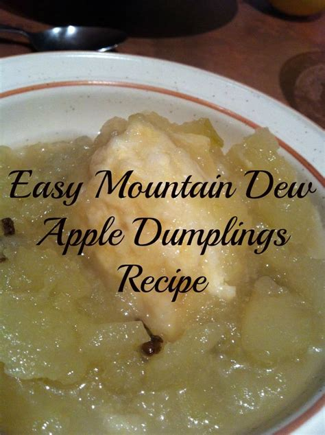 easy mountain dew apple dumplings recipe home sweet decor
