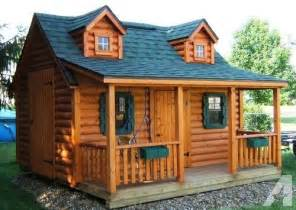 log cabin plans free build a log cabin playhouse with free plans