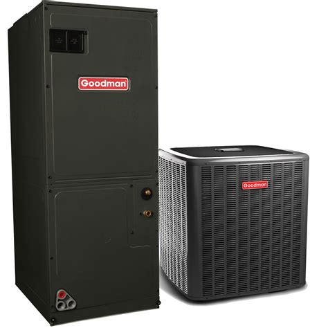 heating air conditioning goodman 3 0 ton 16 seer r 410a air conditioning system with heat