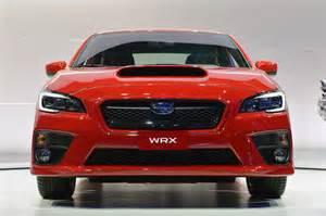 2015 Subaru Cars 2015 Subaru Wrx Revealed In La Cars Co Za