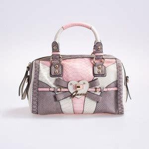 Tas Guess Auntentic bows box bag and handbags on