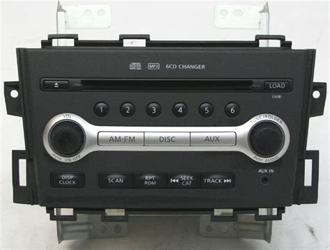 nissan murano radio nissan murano 2009 2010 factory stereo 6 disc changer mp3