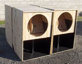 18 inch bass woofer subwoofer speaker cabinet box hi