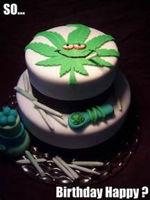 marihuana kuchen a collection of birthday cakes