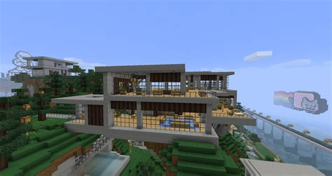 home design for minecraft minecraft modern house designs blueprints images