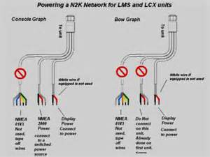 lowrance power cable lowrance wiring diagram free