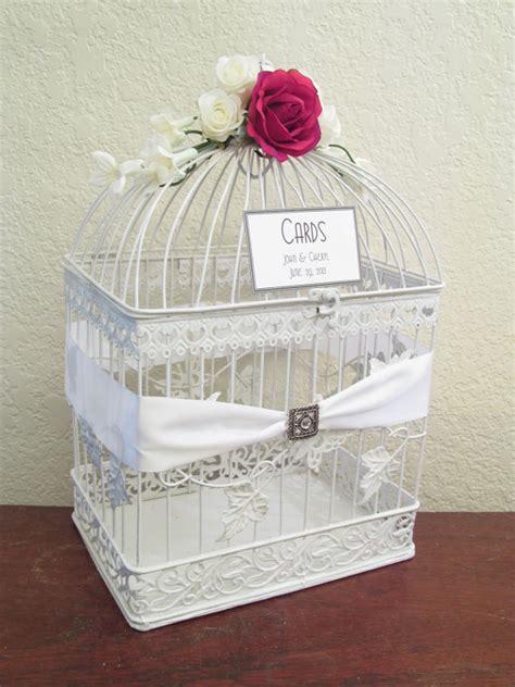 birdcage wedding card box handmade wedding emmaline bride