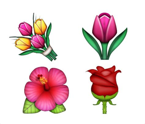 emoji flower 21 add fun to your chat with these emoji pictures free
