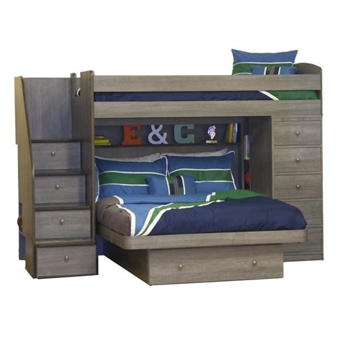 berg loft bed berg furniture sierra space saver twin over full loft bed