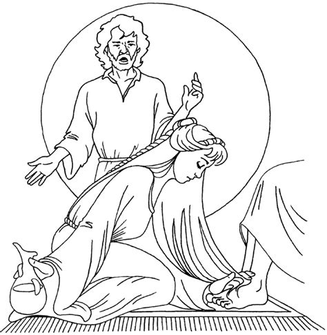 wash disciples feet coloring page