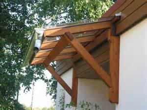 Copper Porch Awning Vordach Aus Holz Sch 246 Ne Ideen