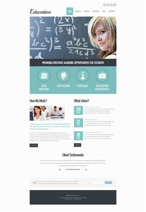 themes for education 10 responsive wordpress themes for lms