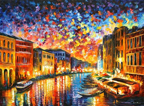 Discount Online Home Decor by Venice Grand Canal Painting By Leonid Afremov