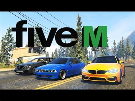 gta 5 real cars & mods online [fivem] youtube