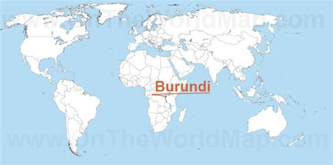 burundi world map burundi on the world map burundi on the africa map
