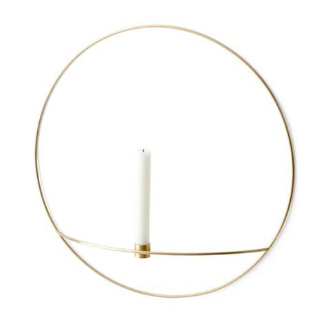 kerzen mit halter circle candleholder by menu connox