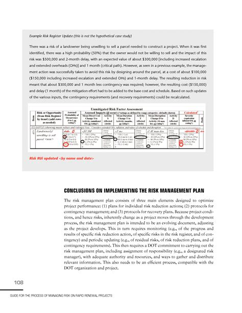 risk and opportunity management plan template 9 implementing risk management plan guide for the