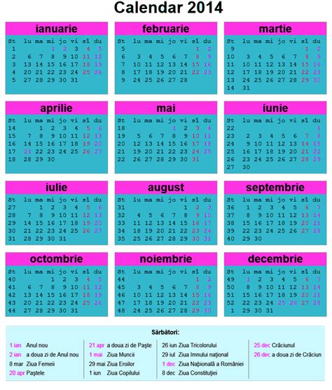 printable calendar 2016 romanesc calendar 2016 romanesc format pdf calendar template 2016