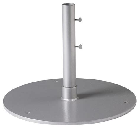Patio Umbrella Pole Sleeve Tropitone 20 Steel Plate 15 Sleeve 1 5 Pole Base