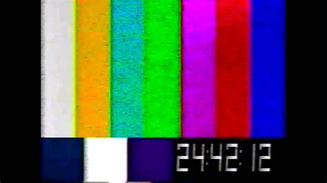 youtube test pattern vhs test pattern 1982 youtube