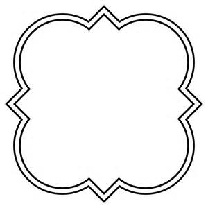 Png Outline Shapes by File Quatrefoil Architectural Square Svg Wikimedia Commons