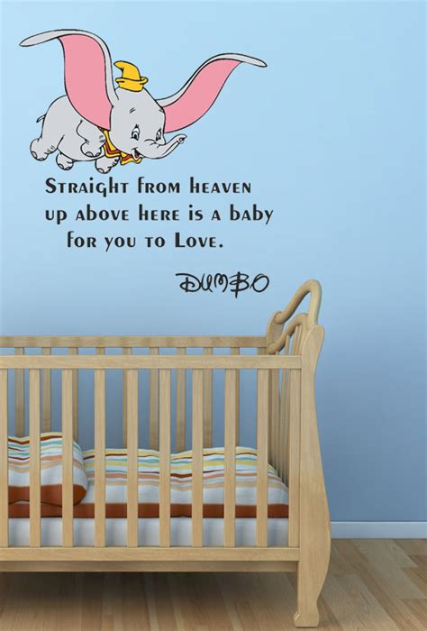 dumbo wall stickers disney quotes from dumbo quotesgram