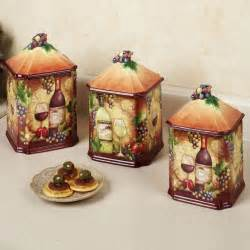 Grape Kitchen Canisters Wine Themed Kitchen Accessories Search Wine