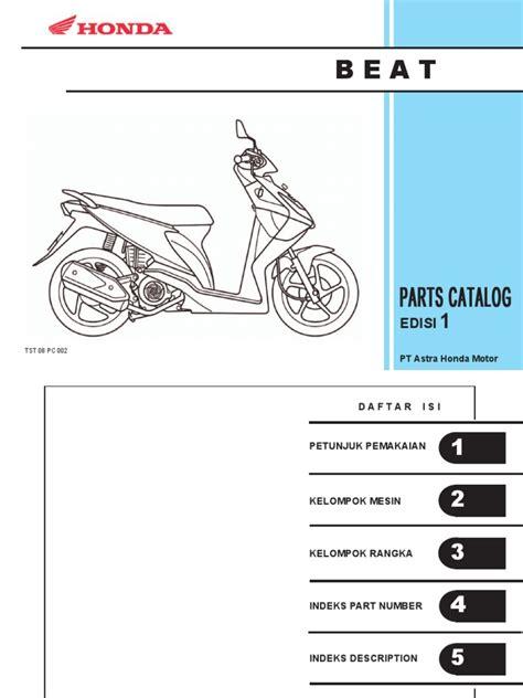 Sparepart Honda Beat Pgm Fi katalog pc beat