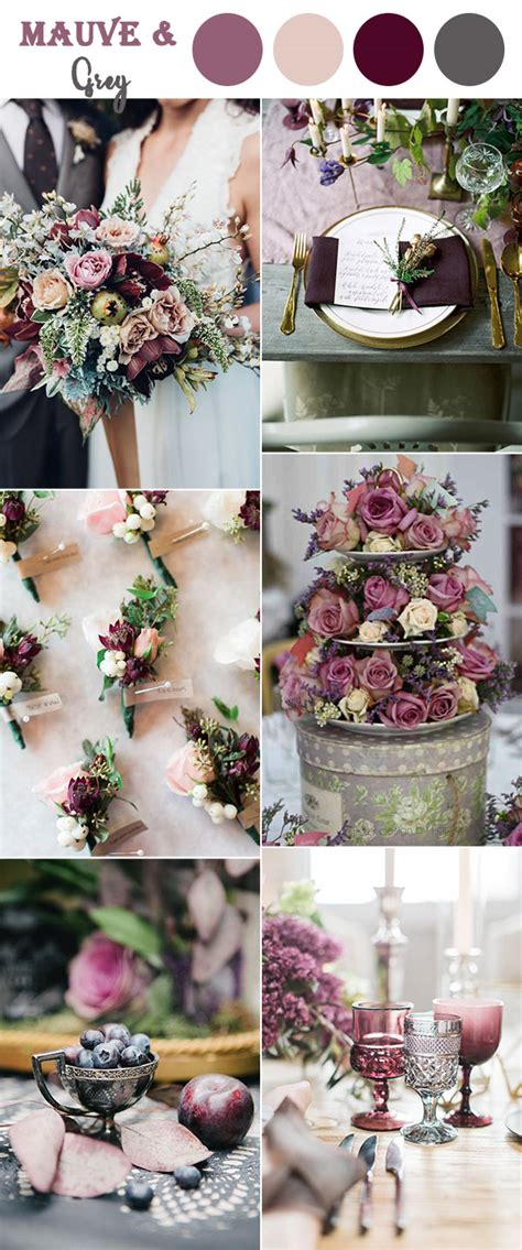 wedding colors 8 fall wedding color combos to in 2017