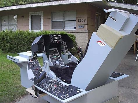 1 1 scale f 16 cockpit by ted sachs jr