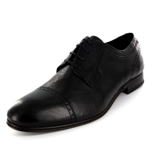 mens h by hudson sheldon smooth leather lace up formal