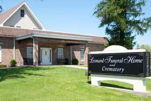 leonard funeral service dubuque ia legacy