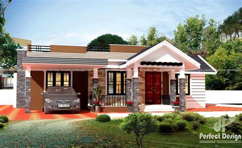 kerala home design single floor low cost low cost contemporary home design 1225 sq ft single floor home plan