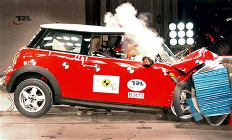 mini crash test new r56 mini cooper crash test 5