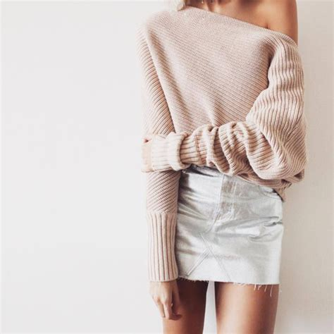 light pink metallic dress sweater pink sweater light pink skirt mini
