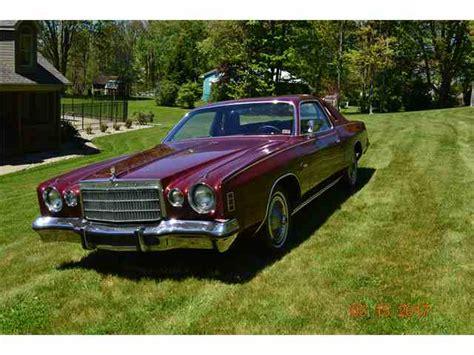 1975 Chrysler Cordoba For Sale by Classic Chrysler Cordoba For Sale On Classiccars 8