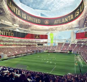 Mercedes Stadium Capacity Mercedes Stadium Atlanta The Stadium Guide
