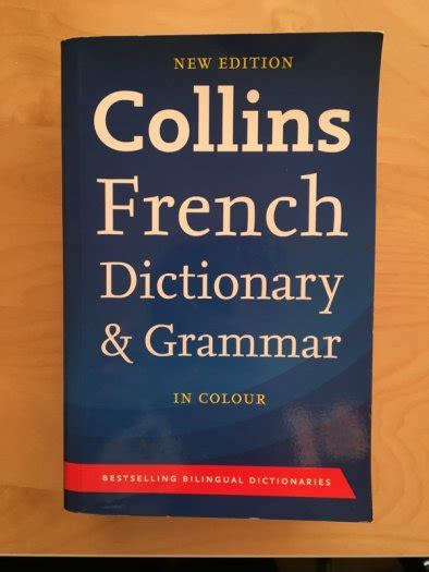0007196490 collins dictionary and grammar collins french dictionary and grammar for sale in