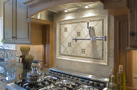 Tile Accents For Kitchen Backsplash Spice Up Your Kitchen Tile Backsplash Ideas On The Level