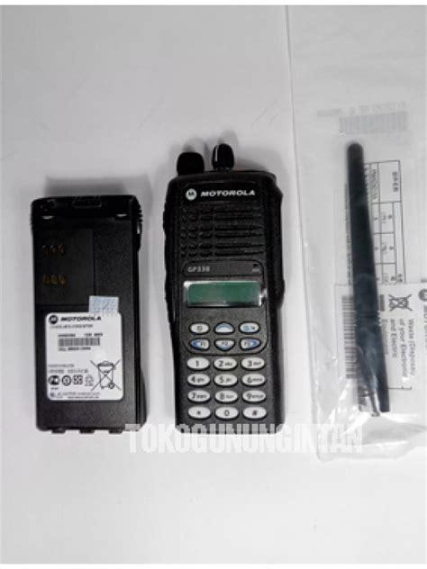 Jual Kabel Data Motorola Gp338 ht motorola gp338 vhf