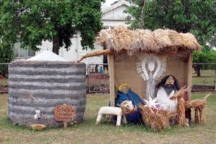 hay nativity scene in tarrington abc news australian
